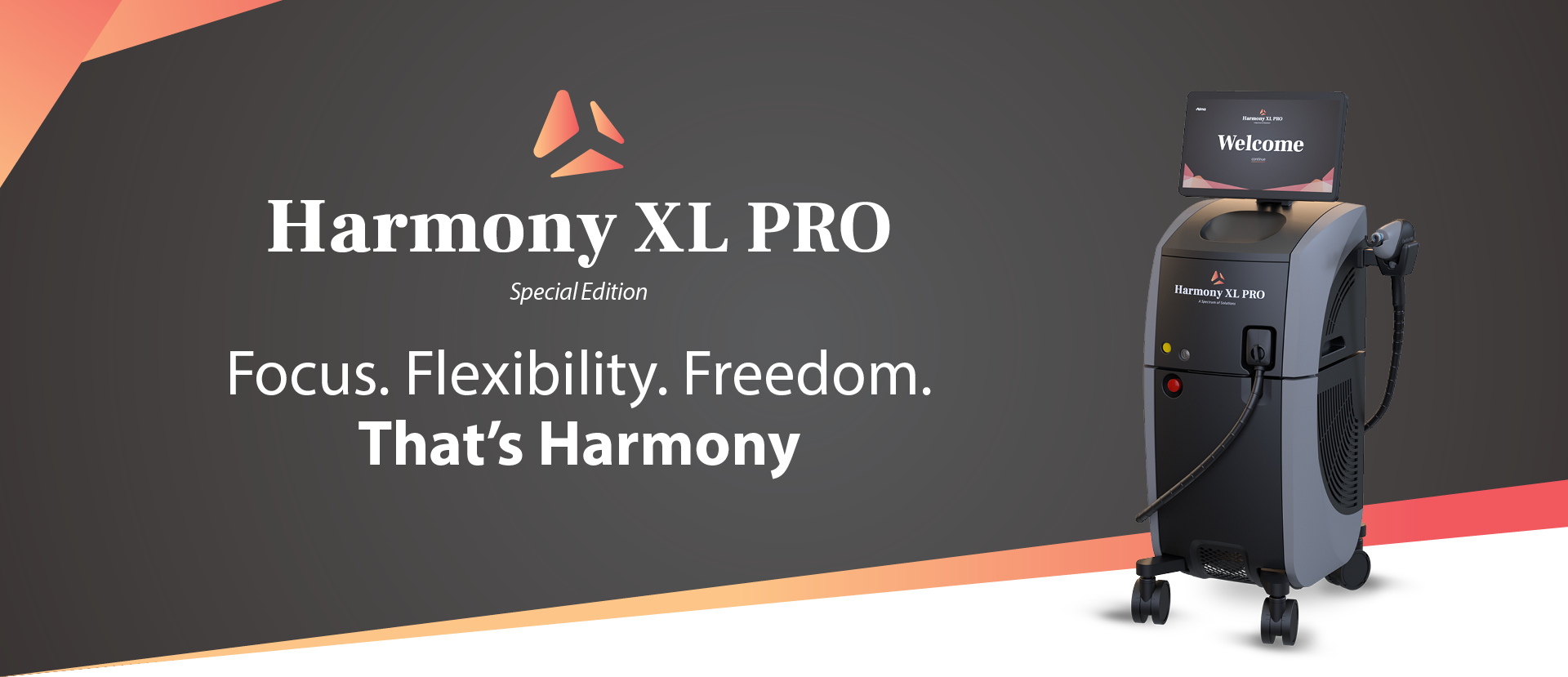 Harmony XL PRO Special Edition banner